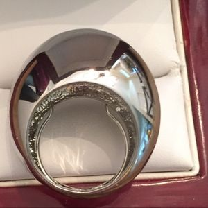 Silver Statementdome ring